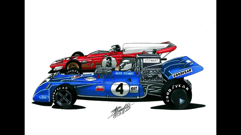 Формула 1 Жаки Икс против Джеки Стюарта / Jacky Ickx vs. Jackie Stewart