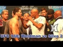 UFC 168 Chris Weidman vs Anderson Silva 2 Weigh-ins Staredown HD