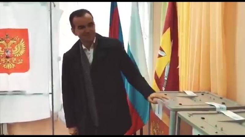 Губернатор Кубани выбрал президента » Freewka.com - Смотреть онлайн в хорощем качестве