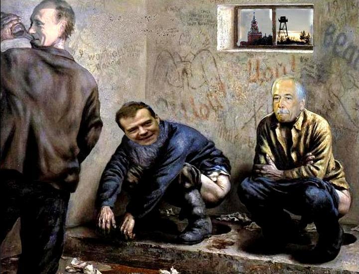 """Путлер капут"",- активист устроил акцию против президента РФ на Одесском кинофестивале - Цензор.НЕТ 1260"