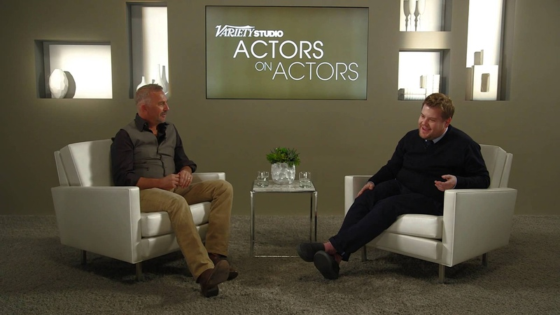 James Corden Kevin Costner at the Variety Studio Actors on Actors presented by Samsung Galaxy