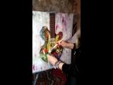 Масло/холст, размер 50Х60 Ученица - Ульяна