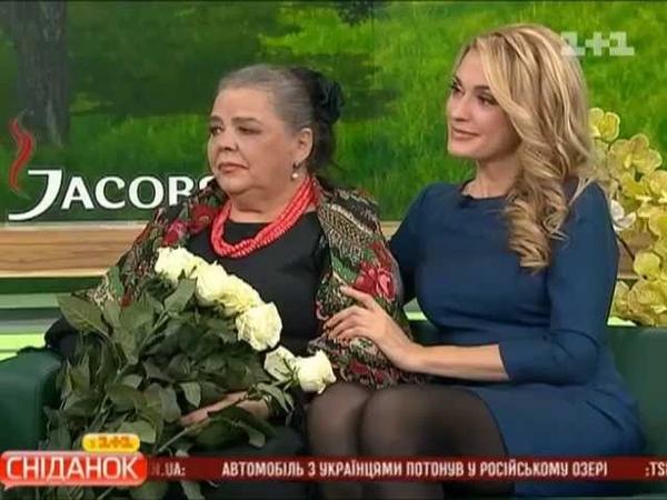 Привітання Ганни Сумської-Опанасенко з ювілеєм