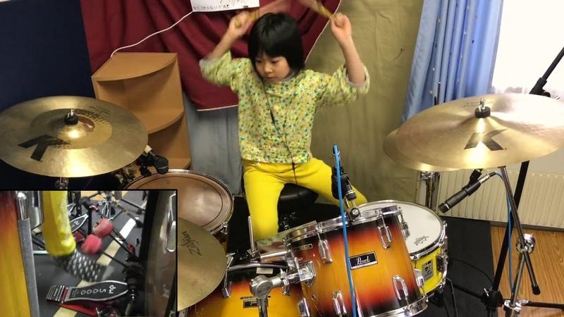 Cover by Yoyoka , baterista de 8 anos de idade
