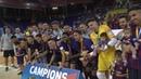 Resum Final Copa Catalunya Futbol Sala 2018 Industrias Santa Coloma FC Barcelona Lassa