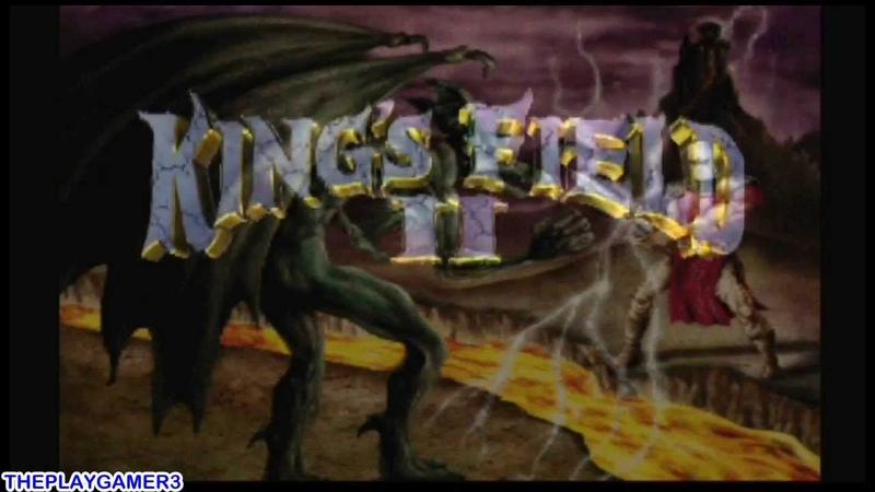 (PS1) King's Field 2 Trailer
