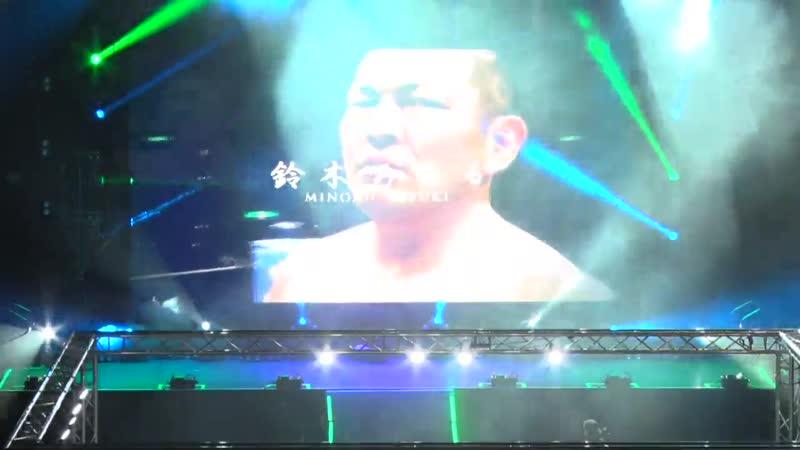 NJPW 18.02.2018 05 Robinson Henare vs Suzuki Gun