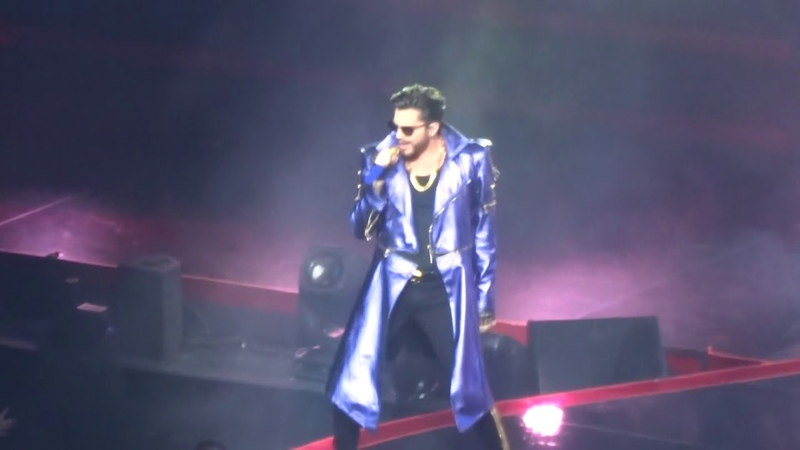 Opening/WWRY Q ueen Adam Lambert Crown Jewels