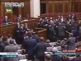 Революция по Украински...Драка в Верховной Раде Украины 08.04.2014