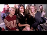 Kate Moss, Emma Roberts and more front row for the Longchamp Fashion Show