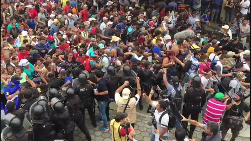 Rompíendo el muro de la frontera México-Guatemala