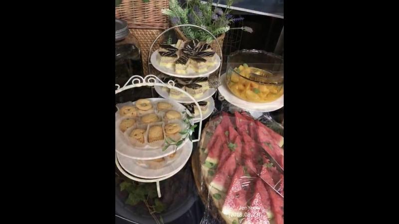 2018 08 23 Samgyetang ginseng chicken lunch support