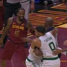 It's only the preseason but the Cavs and Celtics are already fighting 😳