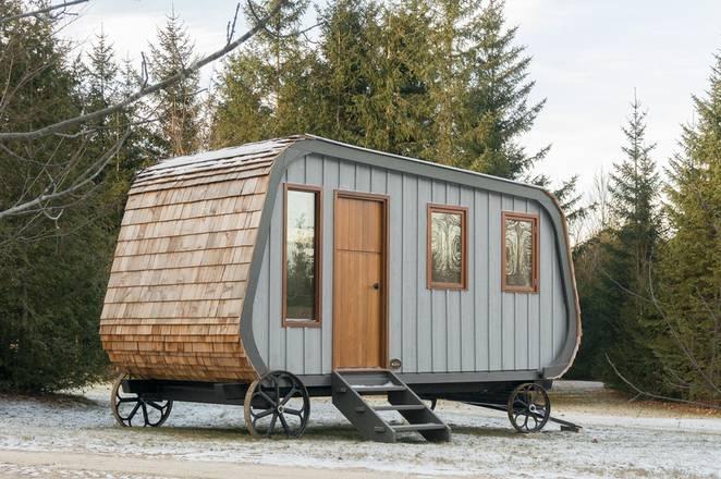 Современный передвижной мини-домик