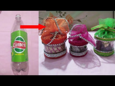 Diy cute organizer from waste bottle multipurpose organizer cute organizer idea koodkala