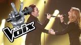 La Voix 6 - Lara Fabian et Genevieve Leclerc en prestation