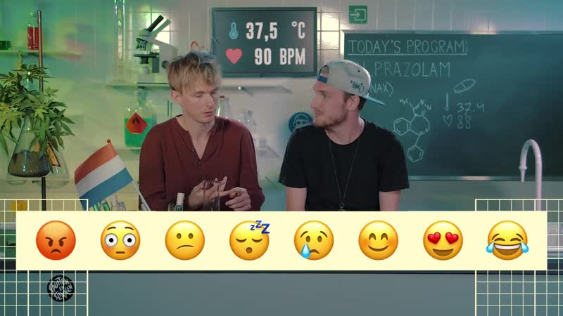 [Drugslab] Rens has no emotions after he took Xanax | Drugslab