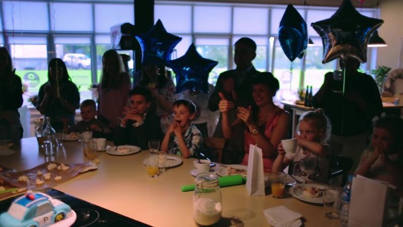 Детский день рождения в Roulet