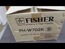 КАПСУЛА ВРЕМЕНИ, НОВЫЙ МАГНИТОФОН из 90Х FISHER PH-W702K Распаковка.