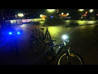 Велокортеж с мигалками