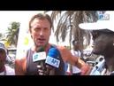 Hervé Renard sélectionneur du Maroc a participé au Marthon de Dakar heureux d'être ici…