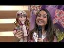 Boneca Laurinha em Feltro por Cláudia Crestani - 23/06/2017 - - P1/2