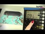 Швейная машинка. Видео урок 6 от Burda - краеобметочные швы