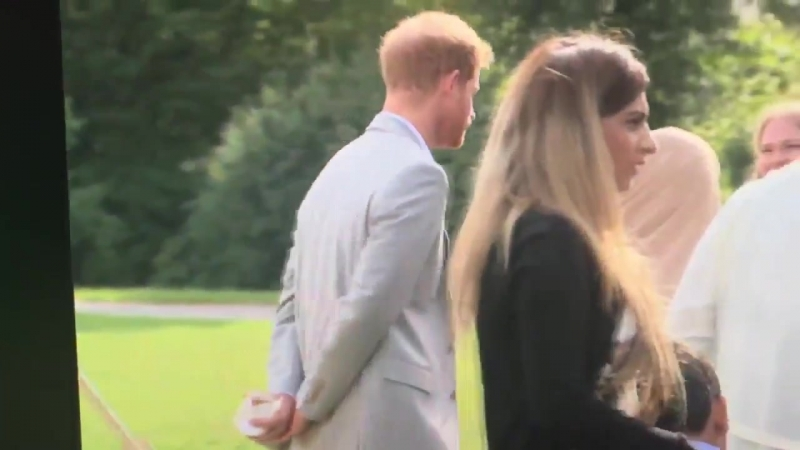 Prince Harry Pulled a Hilariously Mischievous Move at His Wifes Cookbook Party