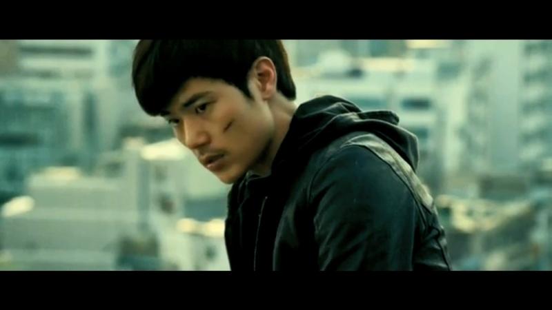 Strangled scene of Woo gon