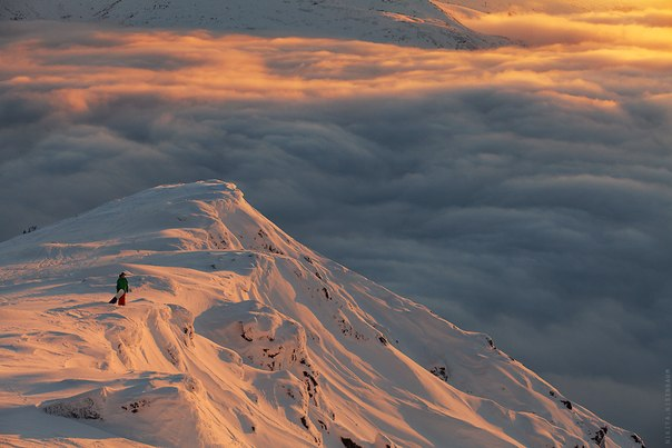 Гора Кукисвумчорр в окрестностях Кировска, Мурманская область. Автор фото: Никита Нисенбаум.