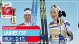 Sweden claims gold medal  Seefeld  Ladies TSP Classic  2019 FIS Nordic World Ski Championships