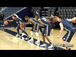Michigan Basketball Practice on 9/27/13