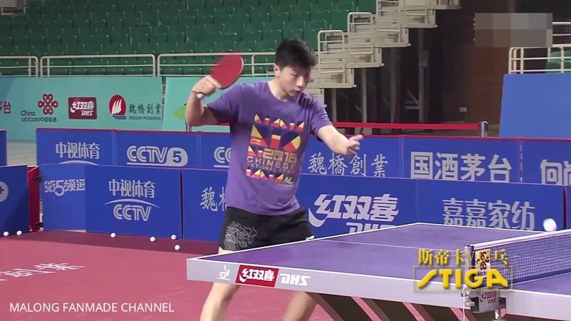 Ma Long, Yan An Practice in China Super League