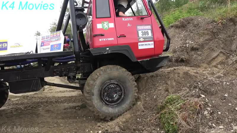 Steyr Truck _ Europe Truck Trial _ no. 309 _ Limberg-maissau, Austria 2018