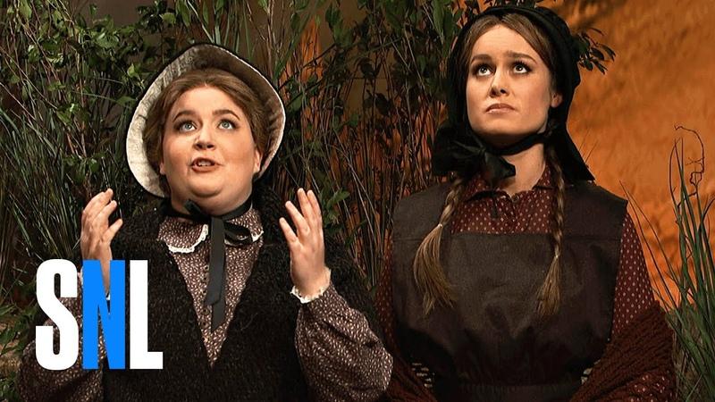 Cut for Time: Oregon Trail (Brie Larson) - SNL