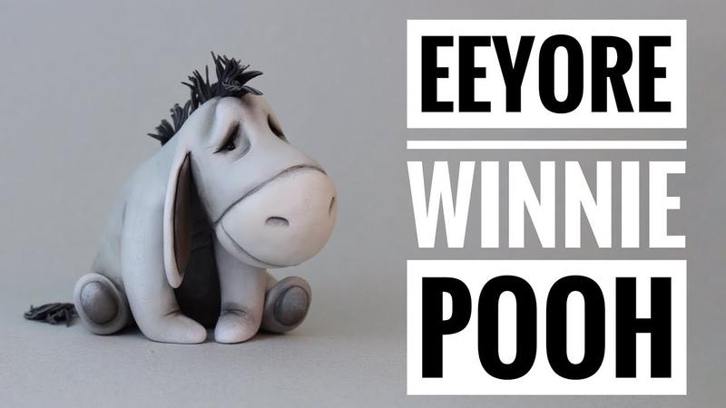 Cómo Hacer a Eeyore | Winnie Pooh | Porcelana Fría | Mis Mejores Ideas
