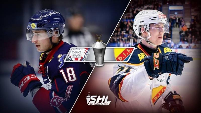 SHL - Slutspel - Linköping HC - Djurgården Hockey 2018-03-20