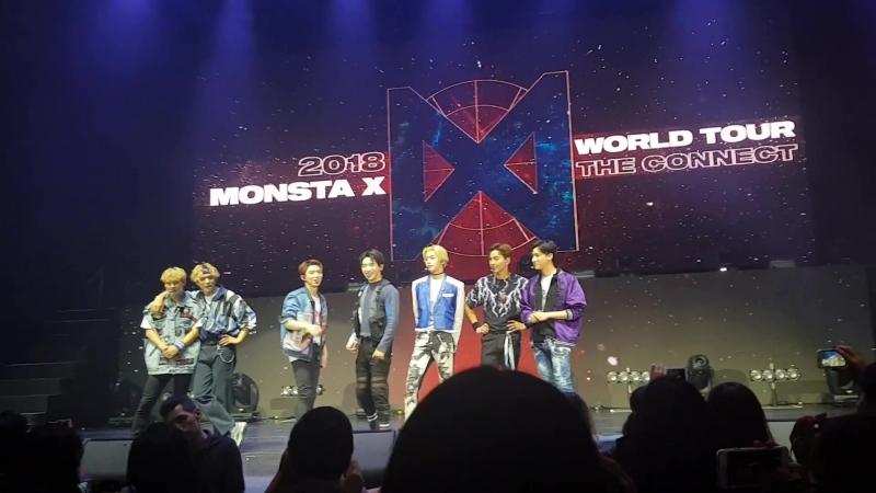 [VK][180805] MONSTA X fancam - Talk @ The 2nd World Tour The Connect in Monterrey