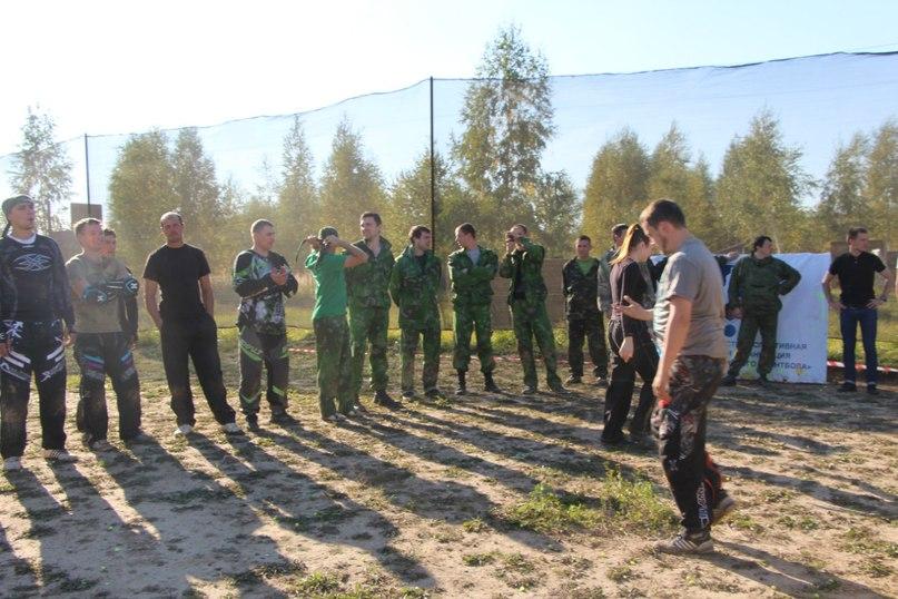 пейнтбольный турнир клуба Иваново