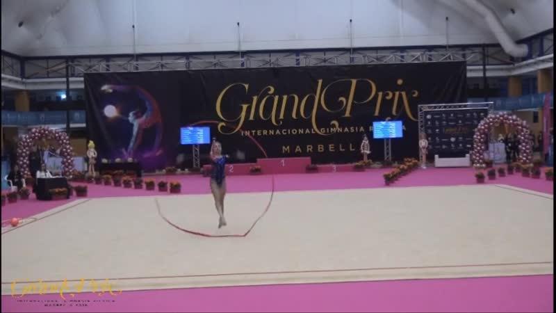 Арина Аверина лента (AA) — Гран-При 2019 Испания, Марбелья