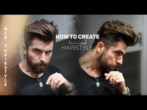 How to create textured Hairstyle. Men´s hairstyle inspiration
