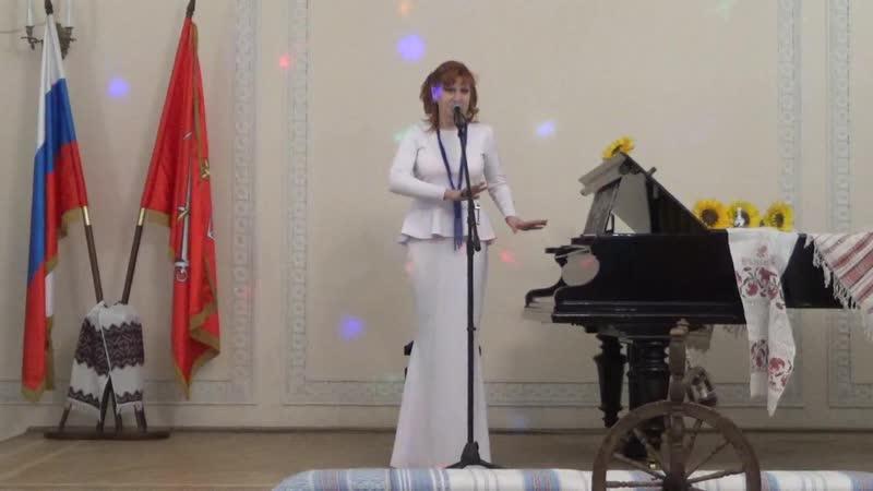 Поёт Оксана Дроздова Не моя планета Земля вид.1251