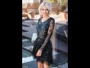 Расклешенное платье мини
