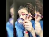 Розовые smoky eyes от финалистки шоу «Мейкаперы» – Каролины!