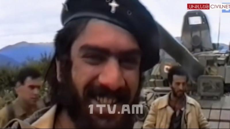 Վիրավոր Գայլը Герой Арцаха Араик Хандоян (Одинокий волк)