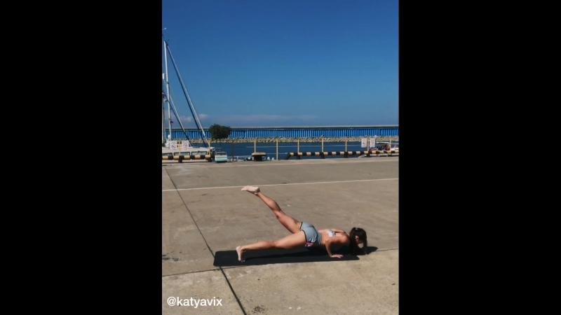 Моя жиросжигающая тренировка на все тело. Катя Викс.