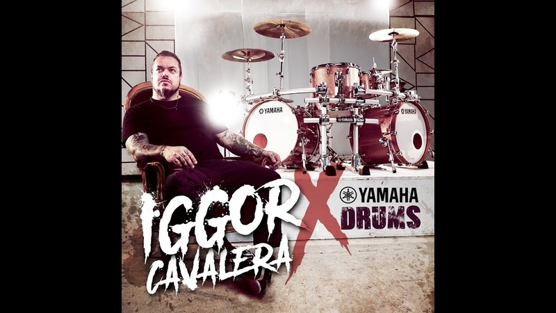 Yamaha Drums welcomes IGGOR CAVALERA (Cavalera Conspiracy, Mixhell, Soulwax, Sepultura)
