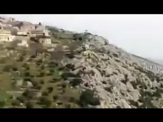 Под Африном сбит турецкий военный вертолет
