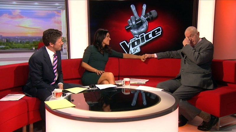 The Voice UK 2014: Reject Bob Blakeley gets surprise offer live on BBC Breakfast - BBC News