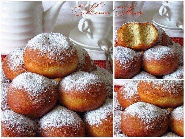 Лимонно-ванильные пончики Рецепт этих пончиков я увидела у